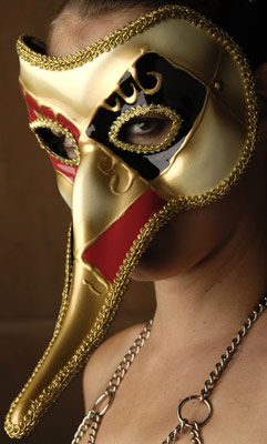 Long Nosed Venetian Mask